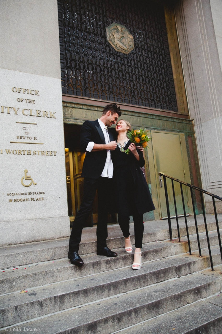 Elopement in NYC City hall