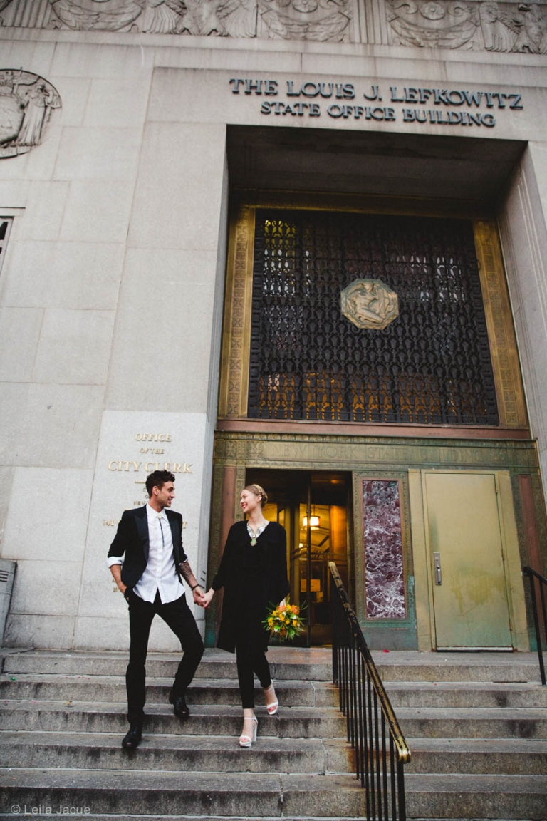 NYC Elopement City Hall