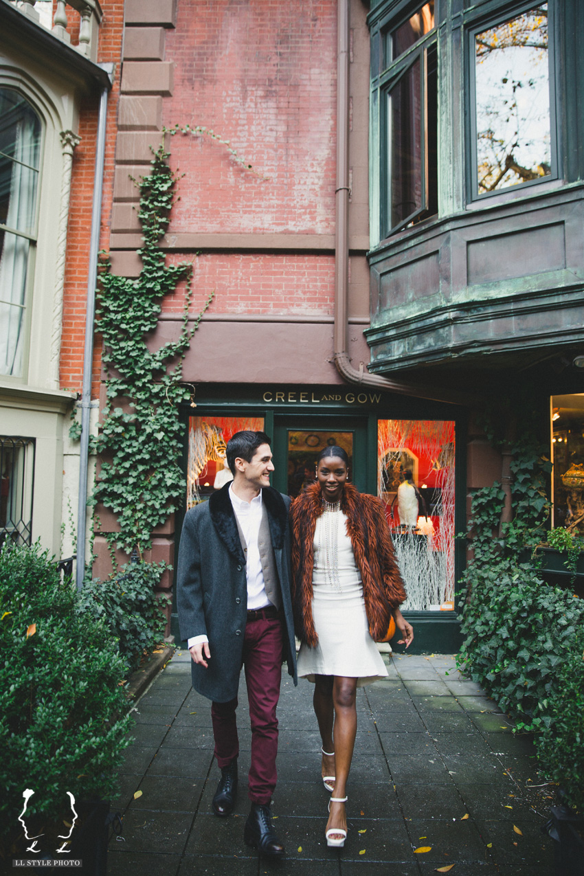 Mulan and Pablo | Engagement session in NYC