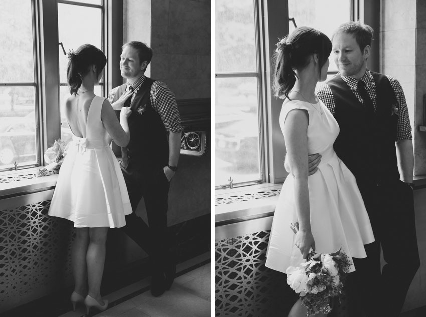 Corinna & Andreas | NYC City Hall Elopement