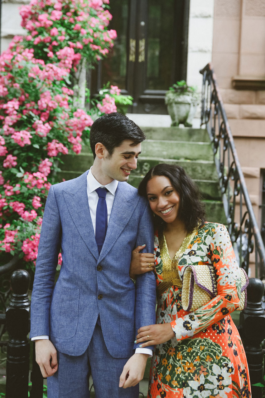 Sophia and Isaac | Prospect Park Session & City Hall Wedding