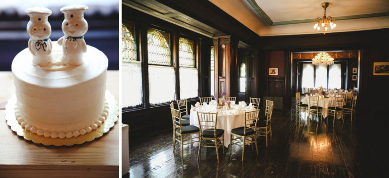 Wedding Photos Cake And Reception At The Montauk Club Of Brooklyn