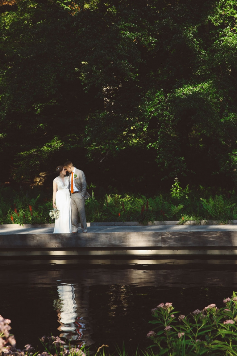 New York Botanical Garden Wedding L L Style Photo