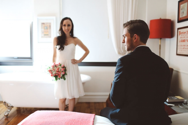 Nomad Hotel Wedding
