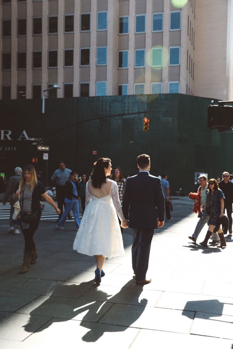 jessica amp peter ny city hall elopement lampl style photo