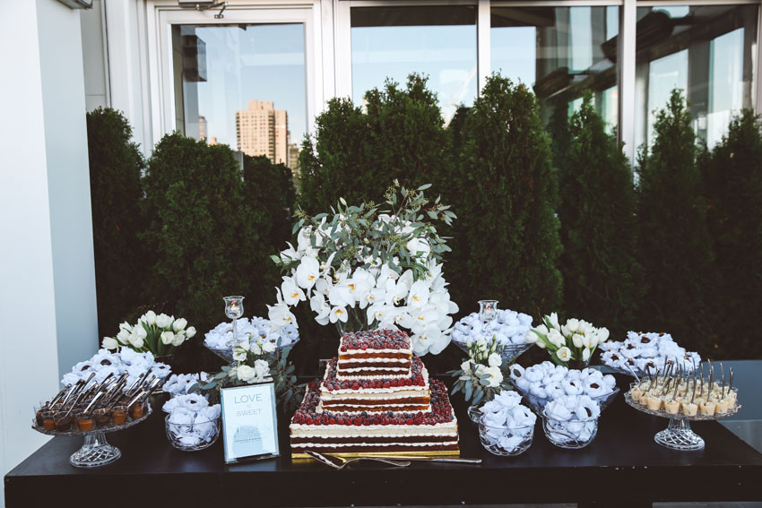 Fernanda & Alejandro | The Press Lounge rooftop wedding