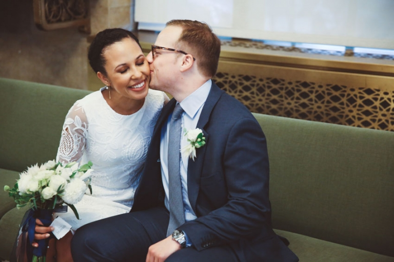 multicultural city hall wedding