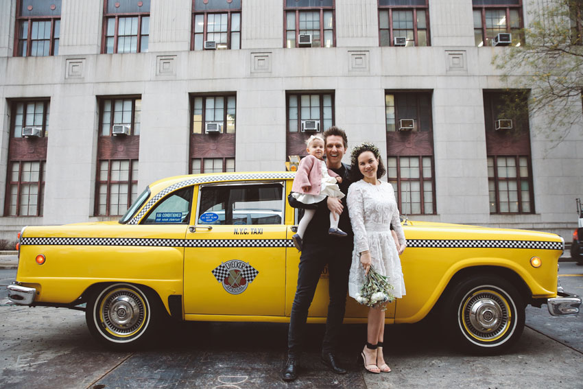 Merle & Pol | NY City Hall Elopement | Portraits in the city