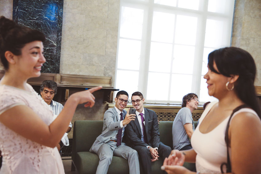 Cristian and Jose NYC Elopement | City Hall and Tribeca wedding shoot