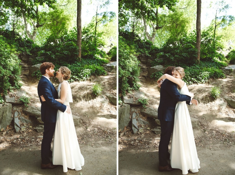Wedding reveal in Central Park