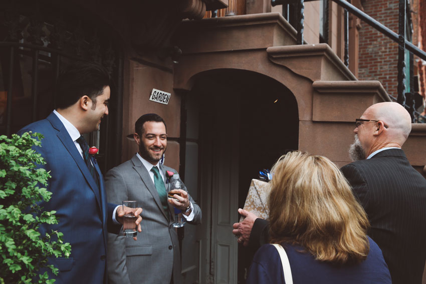 Justine and John | Maison May Dekalb Brooklyn Wedding