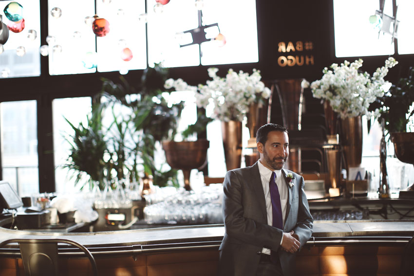 Houston Hall Wedding | Amy & Jay | Tribeca