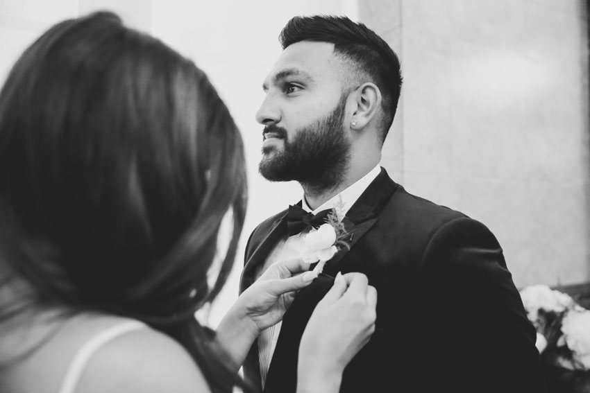 Stylish elopement in NYC | Pooja and Jay