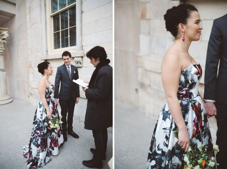 MET museum wedding ceremony