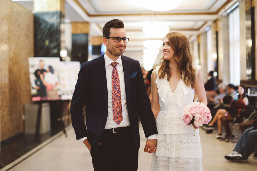 Short and sweet City Hall Wedding | L&L Style Photo