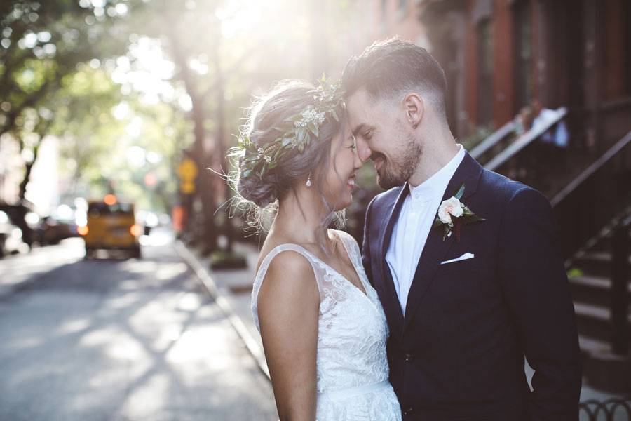 west village wedding shoot