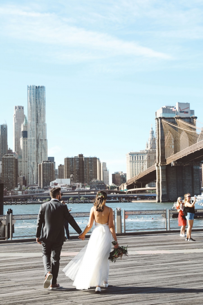 Brooklyn Bride Wedding Bridge Park