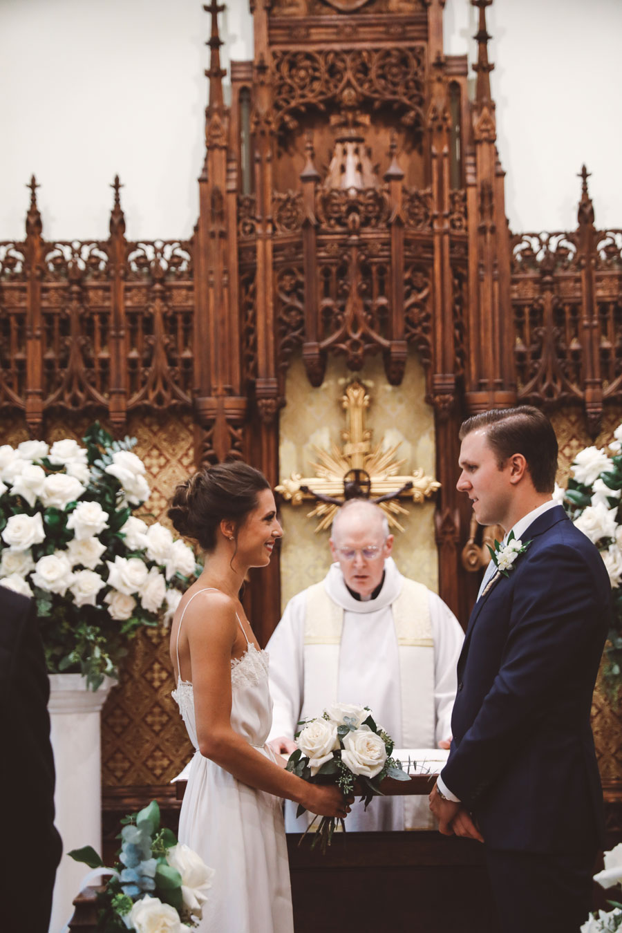 St Ignatius de Loyola Wedding