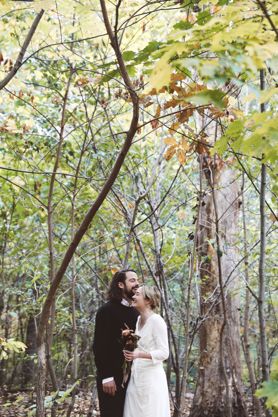 Intimate Central Park elopement