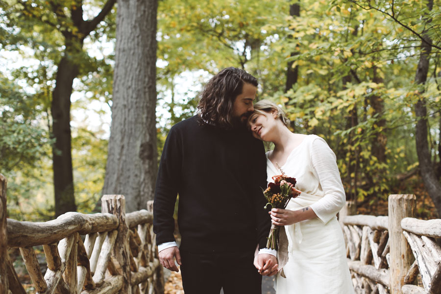 Chic Central Park elopement