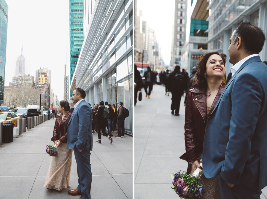 NYC Indian casual wedding