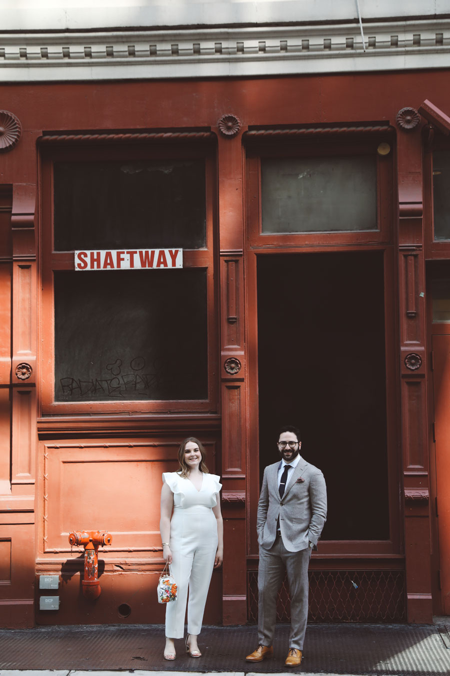 Stylish soho wedding