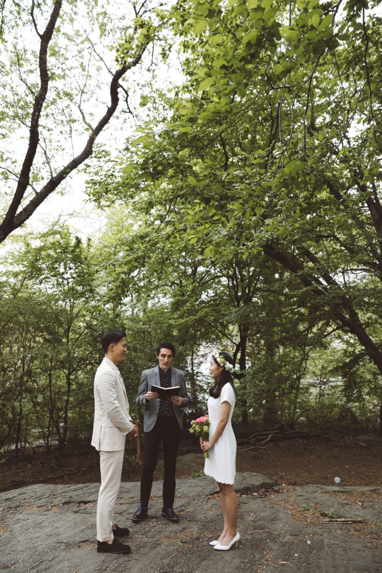 NY Central Park Wedding Officiant