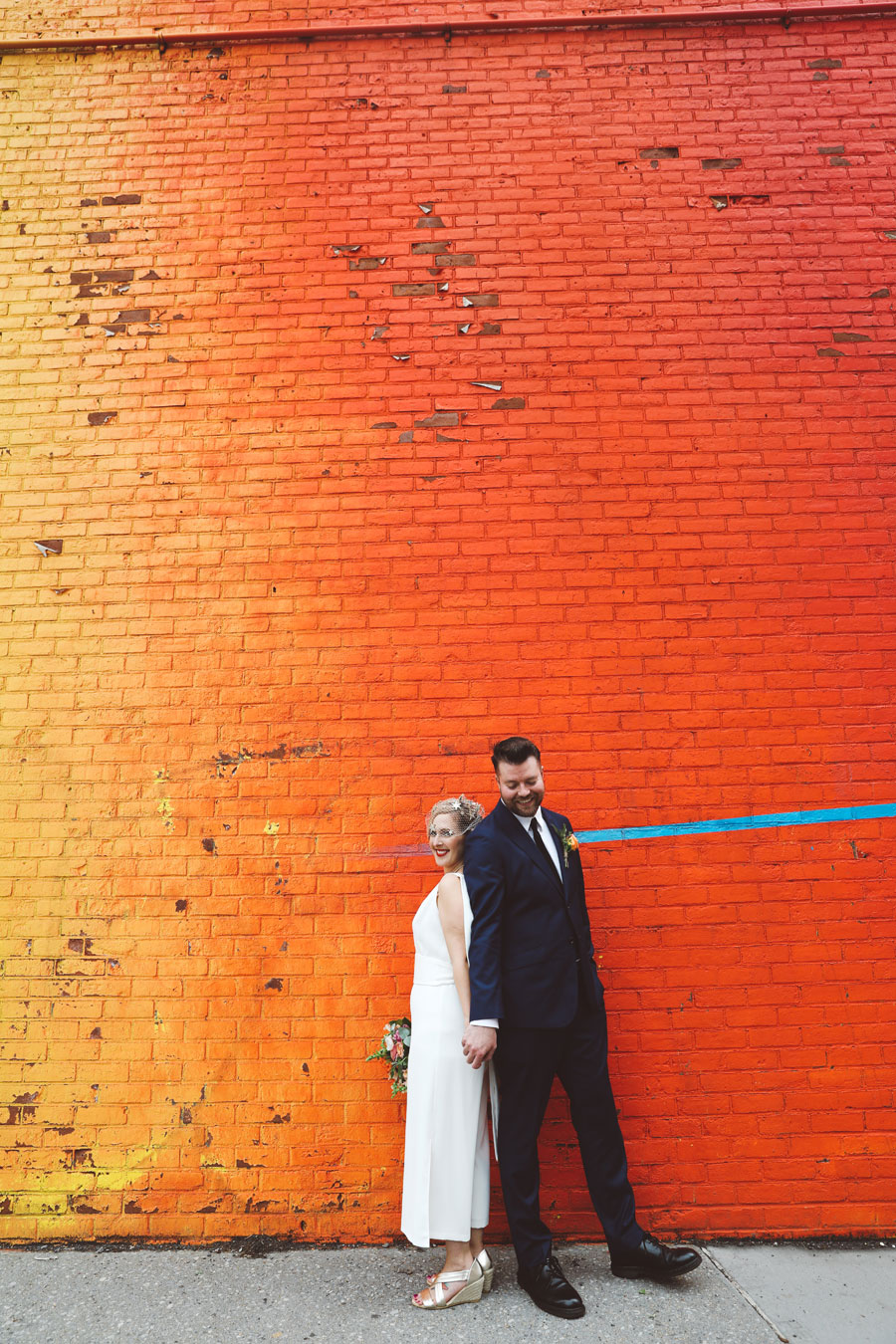 Dumbo graffiti wedding