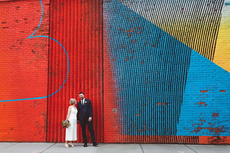 Colorful Graffiti wedding