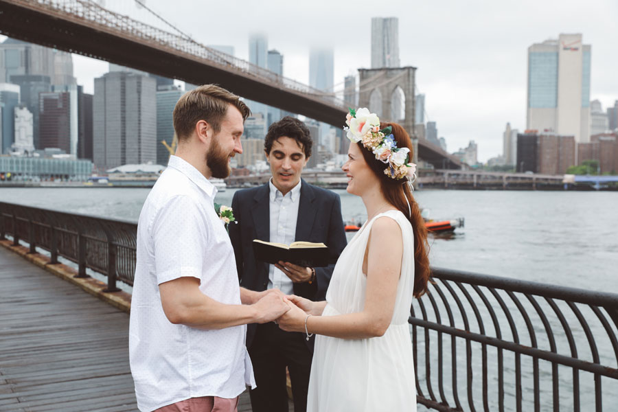 ceremony elopement dumbo