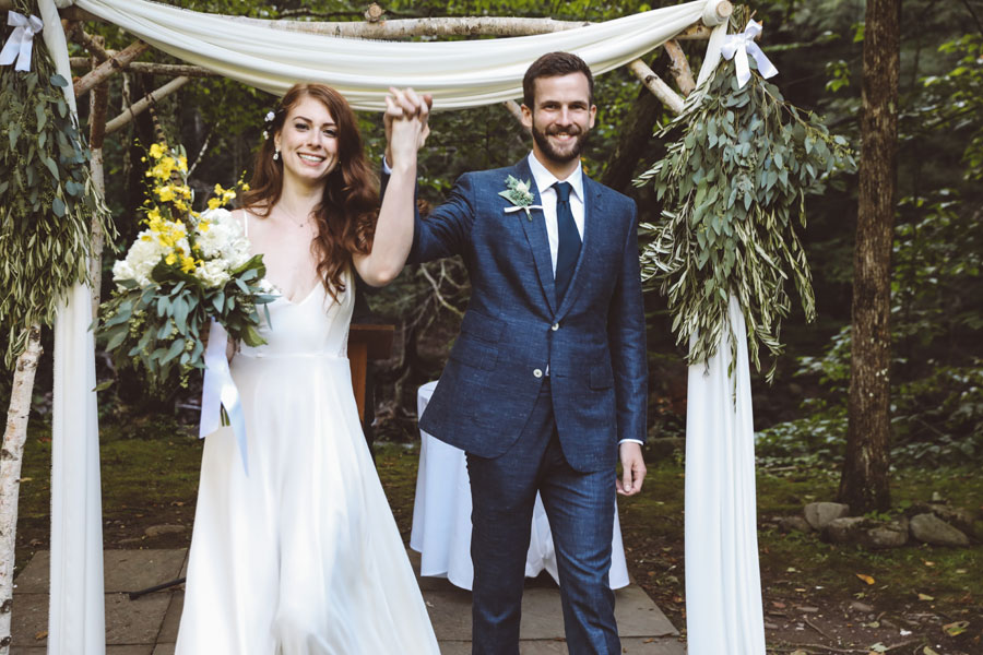 chuppah wedding catskills