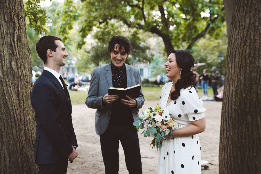 NYC Elopement Officiant