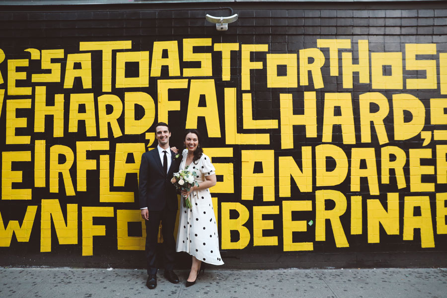 Lower East Side Wedding Photos