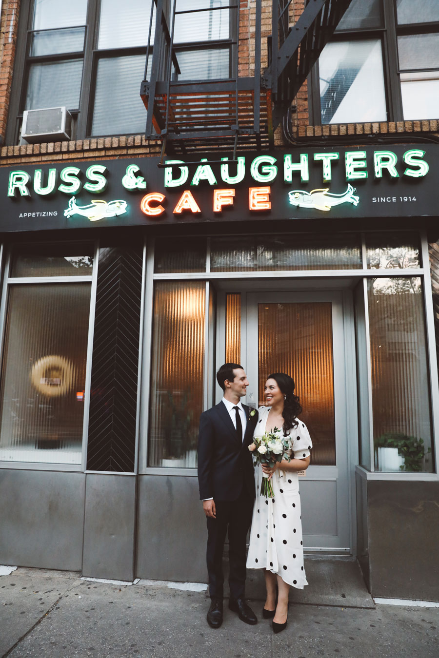 Russ & Daughters Wedding