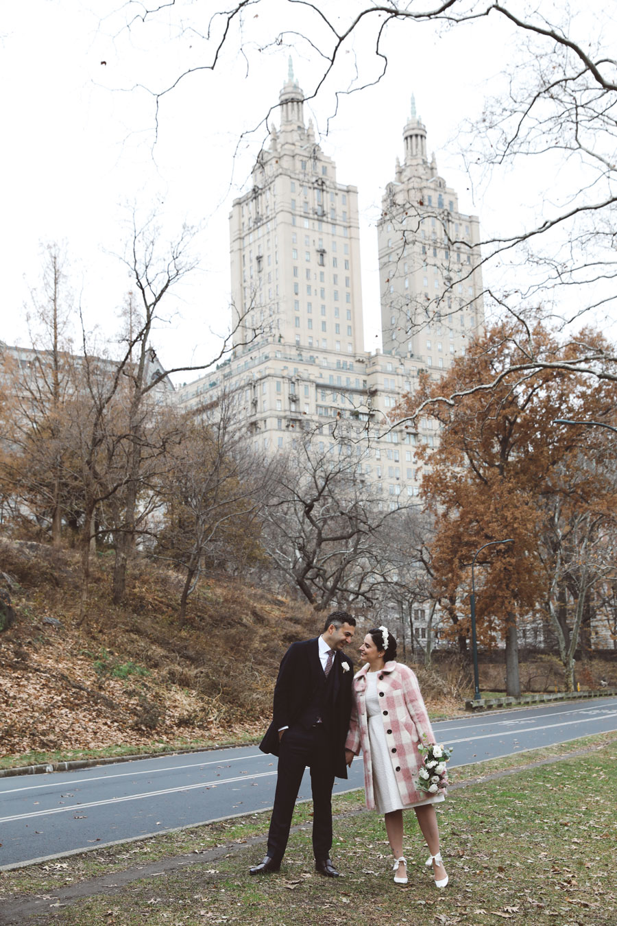 Winter Central Park Wedding