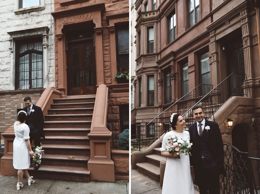 Elopement photos in NYC
