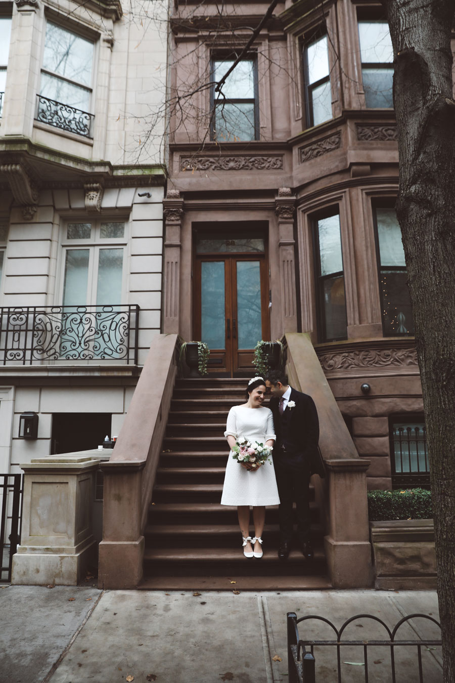 NYC Brownstones Wedding Photos