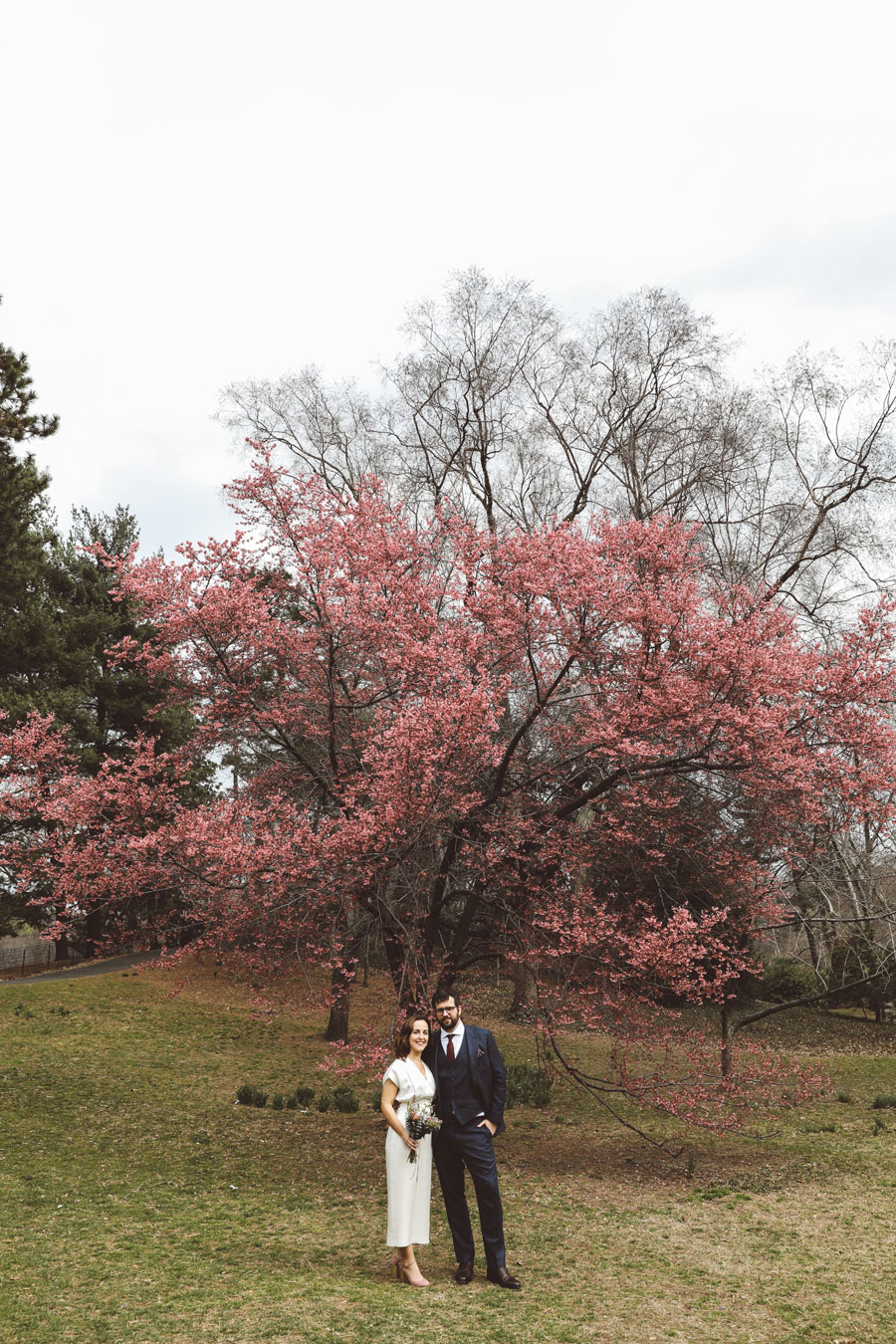Cherry Blossoms wedding photography