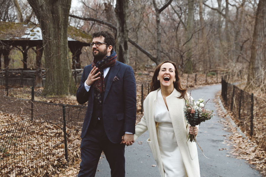 Casual Central Park Wedding