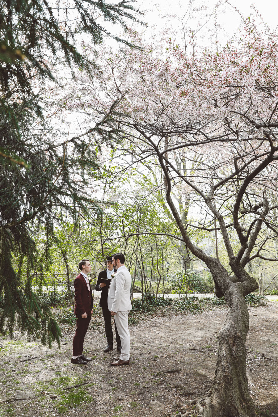 Same sex Central Park Wedding