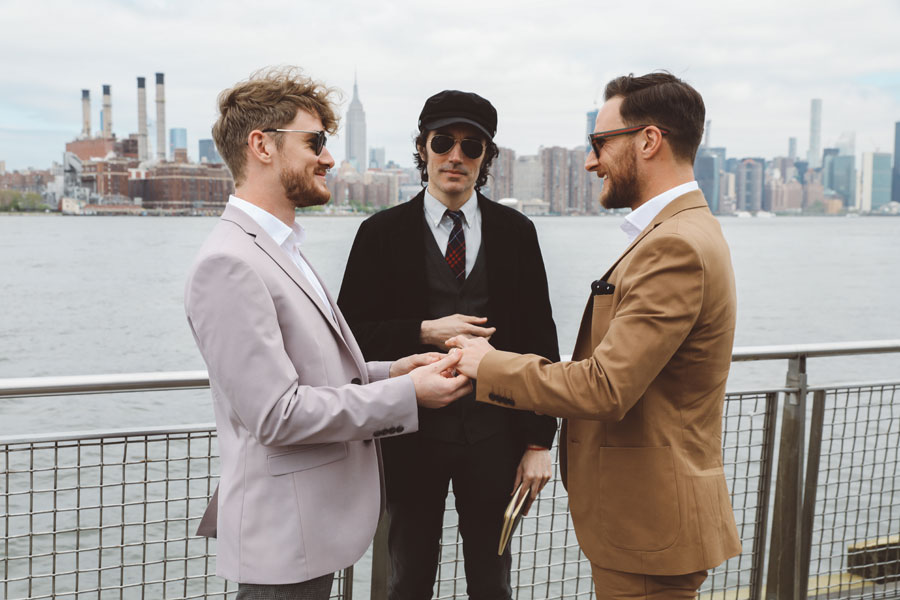Gay Ceremony in NY