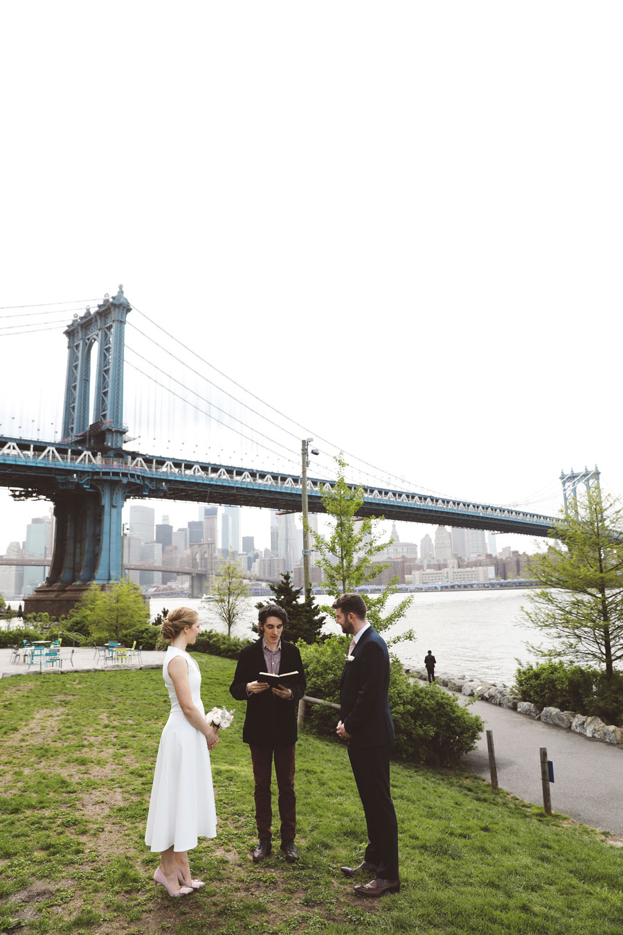 Dumbo elopement officiant