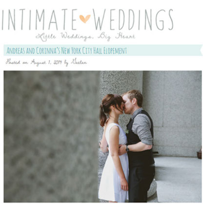 An intimate NY City Hall Elopement